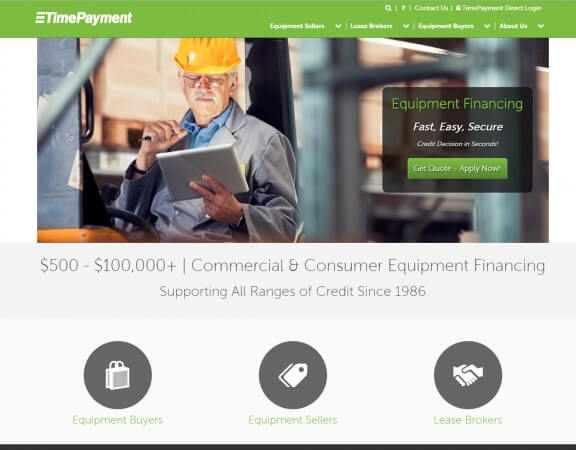 TimePayment.com - Announcing our new and improved website.